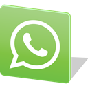 Whatsapp, Logo, social media, Social, media, Chat YellowGreen icon