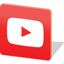 media, Chat, Logo, share, social media, Social, youtubes Crimson icon