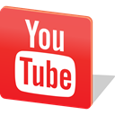 media, video, Logo, share, social media, Social, youtube Crimson icon