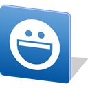 Logo, Messenger, yahoo, media, Chat, social media, Social SteelBlue icon