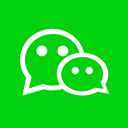 High Quality, social media, Social, Colored, Wechat, media, square Lime icon