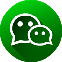 High Quality, Wechat, long shadow, media, Circle, social media, Social DarkGreen icon