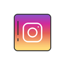 social media, Instagram, instagram logo, instagram button Black icon