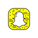 social media, Snapchat, snapchat logo, Ghost Black icon