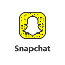 Snapchat, snapchat logo, snapchat button, social media Black icon