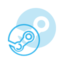 steam, media, Logo, Social DodgerBlue icon