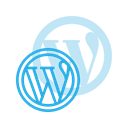 media, Logo, Wordpress, Social DodgerBlue icon