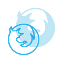 Firefox, Logo, Brand, Logos, Brands DodgerBlue icon