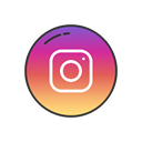 Logo, Label, Instagram, instagram logo Black icon