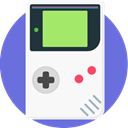 Game, Handheld, nintendo, Gameboy, retro, portable, video game WhiteSmoke icon