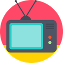 Box, television, set, Tv, Cable, screen Tomato icon