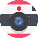 canon, lens, nikon, Camera, photo, Cam, photograph DarkSlateGray icon