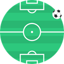 track, Football, soccer, stadium, grass, pitch MediumSeaGreen icon
