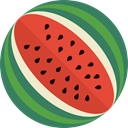 Holiday, Desert, melon, food, Fruit, water SeaGreen icon