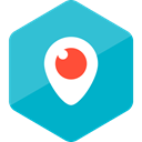 Social, Colored, Hexagon, Periscope, media, social media, High Quality DarkTurquoise icon