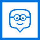 education, social media, Social, media, line, square, edmodo DodgerBlue icon