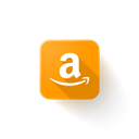 Logo, web, Amazon, Brand Black icon