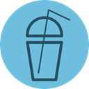 cool, drink, summer, fresh, beverage, tasty, smoothie SkyBlue icon
