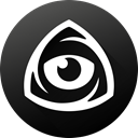 internet, Eye, Iconfinder, Black white, iconfinder logo, icon market, iconfinder icon DarkSlateGray icon