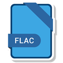document, paper, Format, Extension, flac CornflowerBlue icon