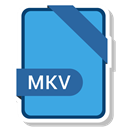 document, File, name, Mkv CornflowerBlue icon
