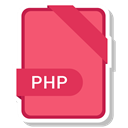 paper, File, Php, Format, Extension Salmon icon