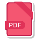 Pdf, Format, Extension, paper, File Salmon icon