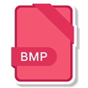 paper, File, Format, Bmp, Extension Salmon icon