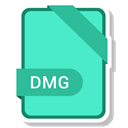 paper, Format, Extension, document, dmg Turquoise icon