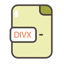 Divx, divx icon, documents, Folders, files PaleGoldenrod icon