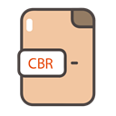 Cbr, cbr icon, documents, Folders, files NavajoWhite icon