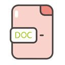 documents, Folders, Doc, files, doc icon Bisque icon