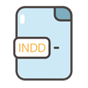 indd, indd icon, documents, Folders, files Lavender icon