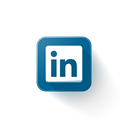 Logo, Linkedin Black icon