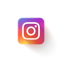 Logo, Instagram Black icon