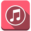Apple, Note, itunes Salmon icon