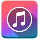 Apple, Note, itunes DarkSlateBlue icon
