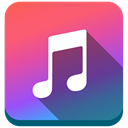 music, Apple, Note, apple music DarkSlateBlue icon