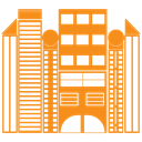 house, real, Building, city, Construction, Estate DarkOrange icon