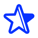 star, bookmark, Favourite, special, marked Black icon