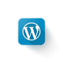 Logo, Wordpress Black icon