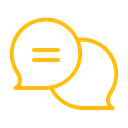 help, support, Chat, Comments, Bubble, Communication, Dialogue Black icon