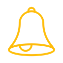 ring, allert, Alarm, bell, reminder, notification Black icon