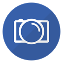 Camera, Logo, picture, digital, photobucket SteelBlue icon