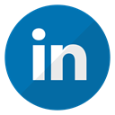 media, Logo, profile, Linkedin, Social, professional, Account DarkCyan icon