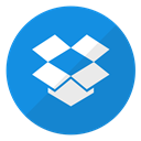 storage, documents, dropbox, Cloud, Logo, Data, files DodgerBlue icon
