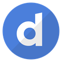 media, video, watch, Logo, Dailymotion, website RoyalBlue icon