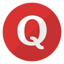 Logo, website, Quora Crimson icon