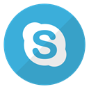 real time video, Skype, visio, Account, video, speak, Logo Icon