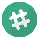 Logo, website, Slack MediumSeaGreen icon